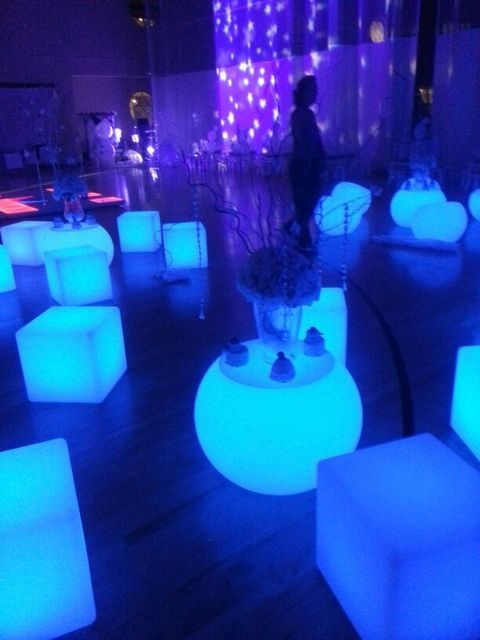 glow cube hire