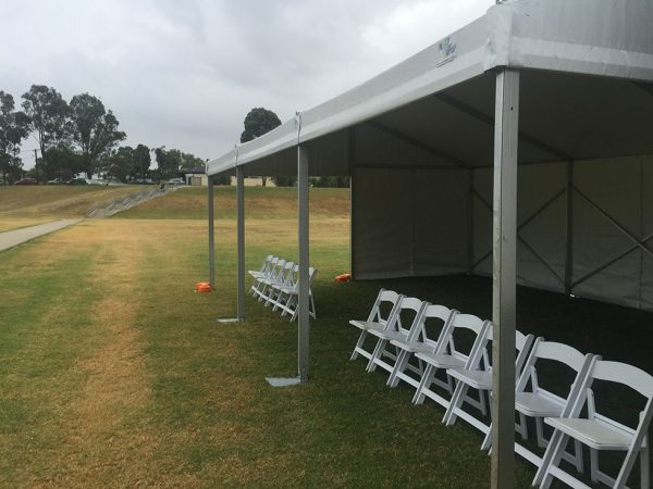 6m x 42m – Framed Marquee