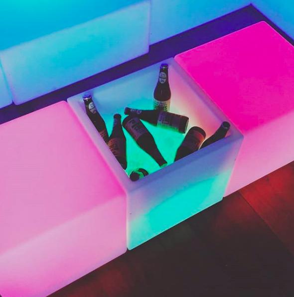 Glow Open Cube