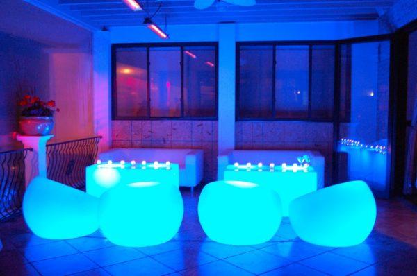 Glow Sphere Chair