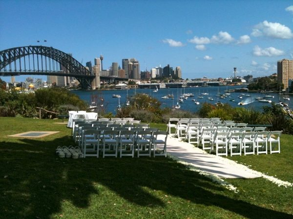 White Padded Folding Chair Hire