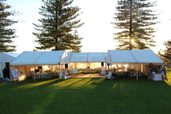 6m x 21m – Framed Marquee