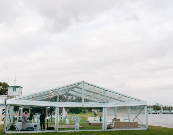10m x 30m – Framed Marquee