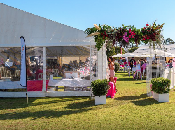 8m x 21m – Framed Marquee