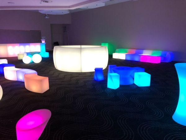 Curved Glow Bar