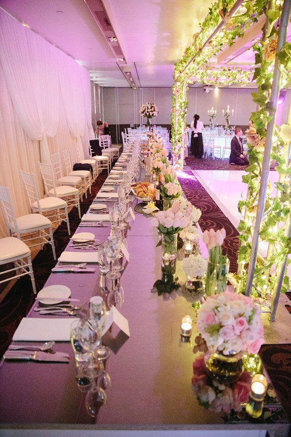 Gloss Bridal Table