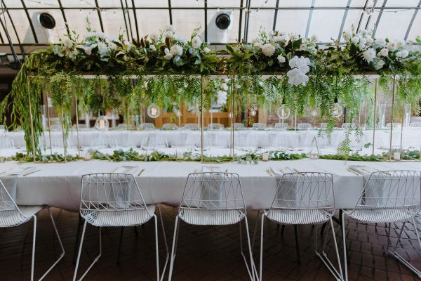 White Wire Chair And White Arrow Chair hire