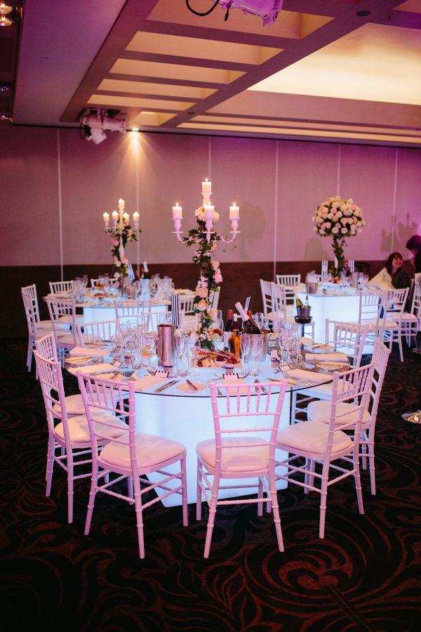White Tiffany Chair Hire