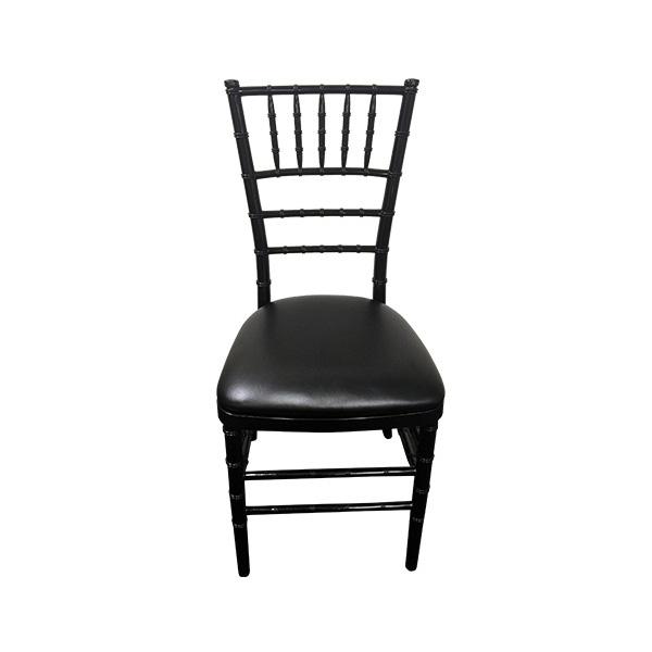 black tiffany chair hire