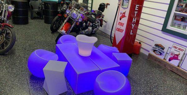 Glowing Ice Tub
