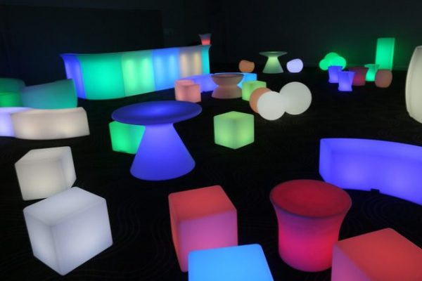 Glow Drum Coffee Table