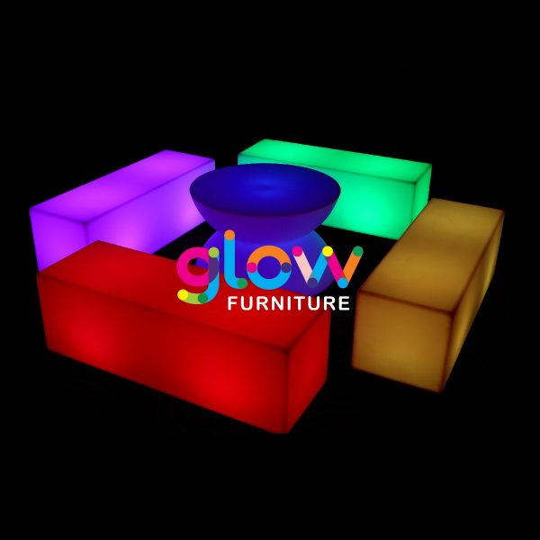 Glow Rectangle Bench