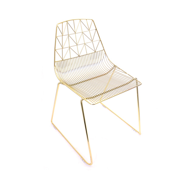 Gold Wire Chair hire