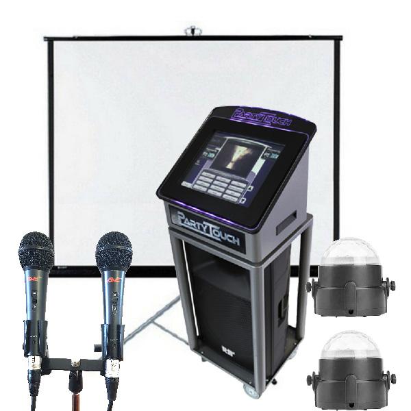 Package 3: Jukebox, Karaoke, Projector and Screen