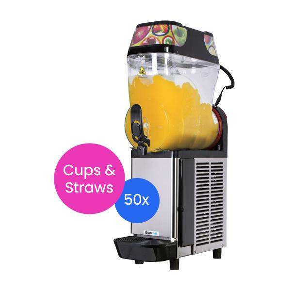 Slushie Machine: Package 1 – *60 Drinks*