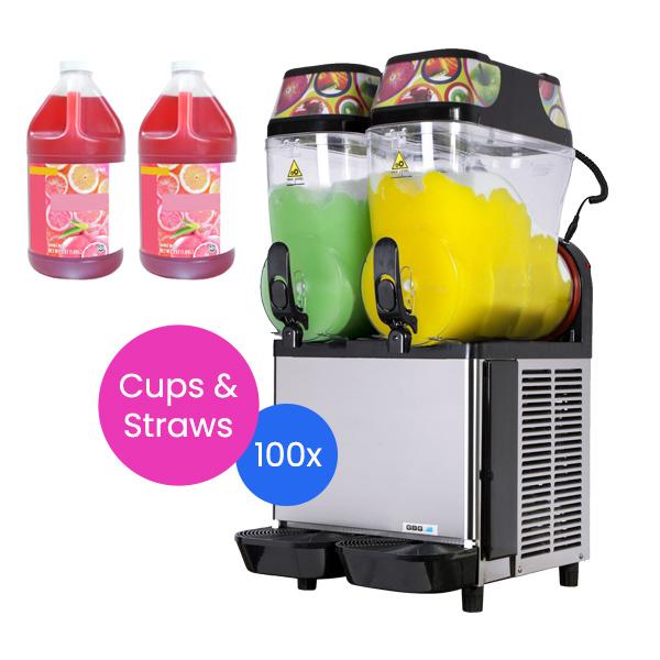 Slushie Machine: Package 3 – *240 Drinks*