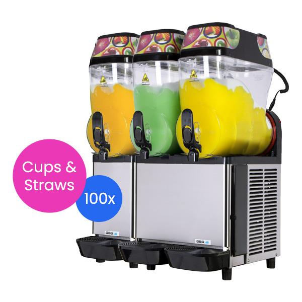 Slushie Machine: Package 4 – *180 Drinks*