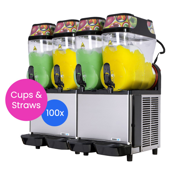 Slushie Machine: Package 5 – *240 Drinks*