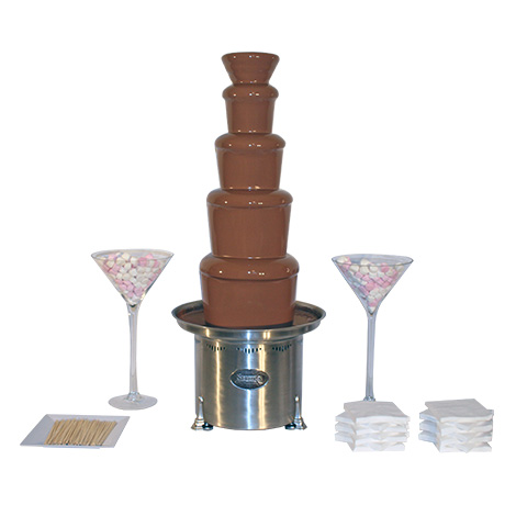Package 4 – Large commercial chocolate fountain