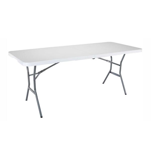 Plastic Trestle Table