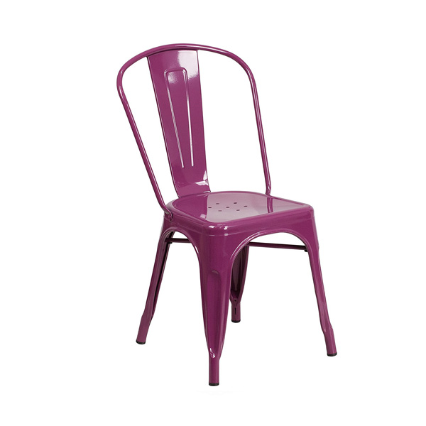 Purple Tolix Chair