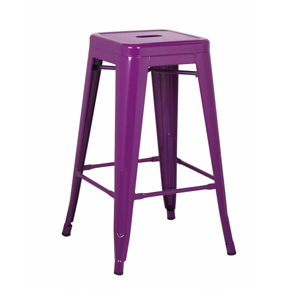 Purple Tolix Stool