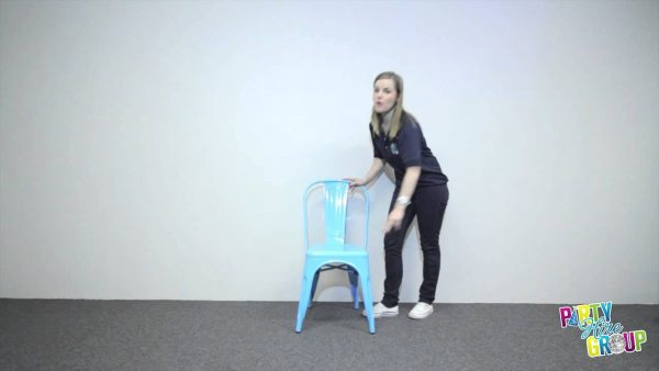 Blue Tolix Chair
