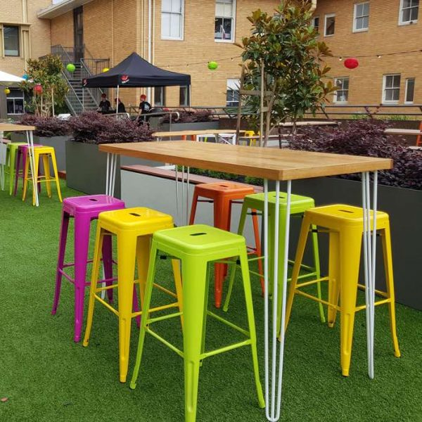 Lime Tolix stool hire