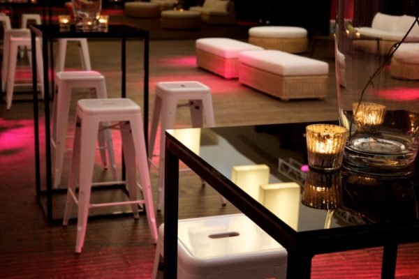 White Tolix stool hire