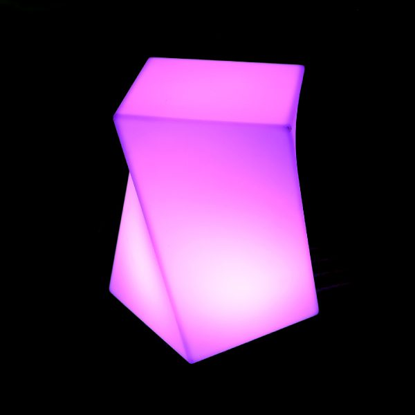 Glow Twisted Cube