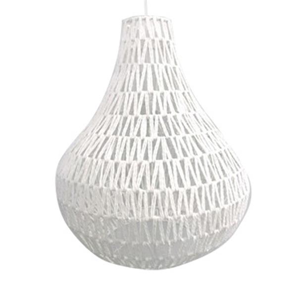 White Pendant Rope Light