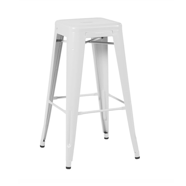 White Tolix stool chair hire