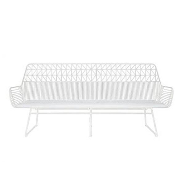 White Arrow 3 Seater chair