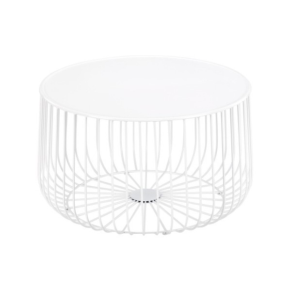 White Wire Coffee Table