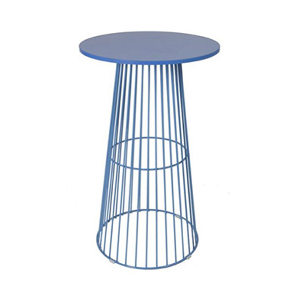 Blue Wire Cocktail Table