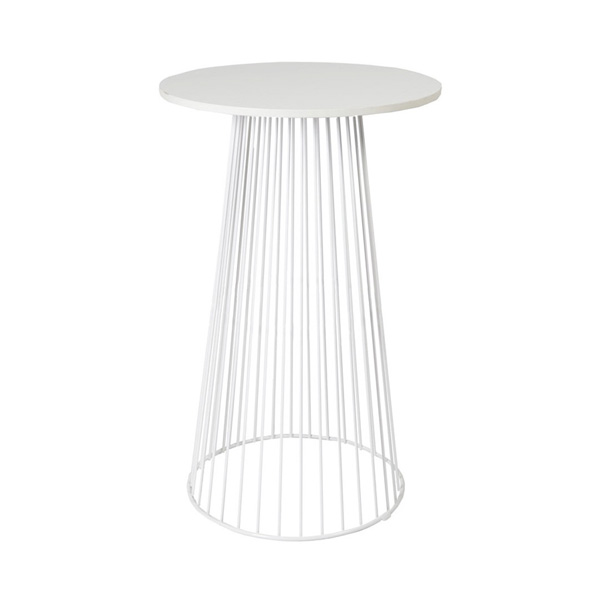 White Wire Cocktail Table / Arrow Cocktail Table