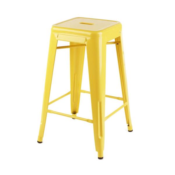 Yellow Tolix Stool hire