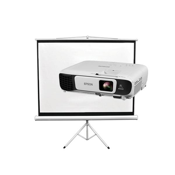 Projector Screen (2m wide x 1.5m tall)
