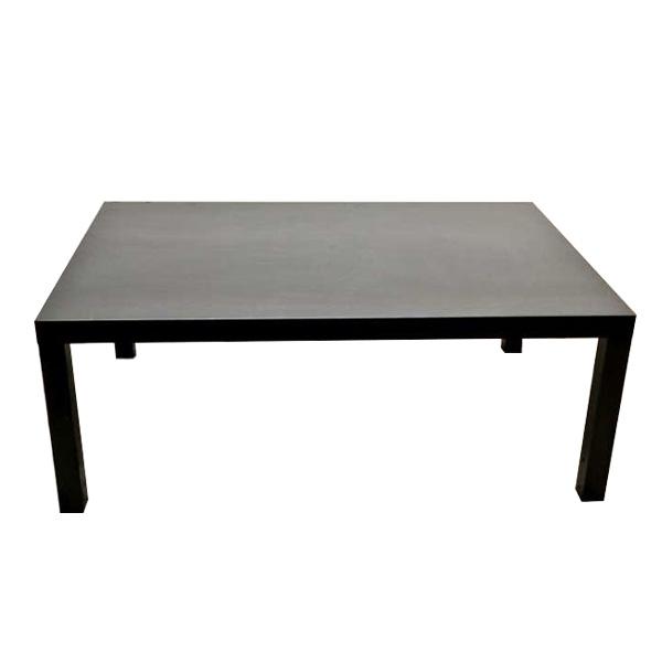 Black Rectangular Coffee table