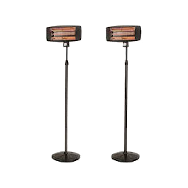 Package 2 – 2 x Electric Radiant Heater