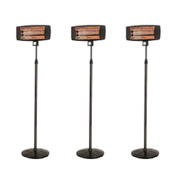 Package 3 – 3 x Electric Radiant Heater