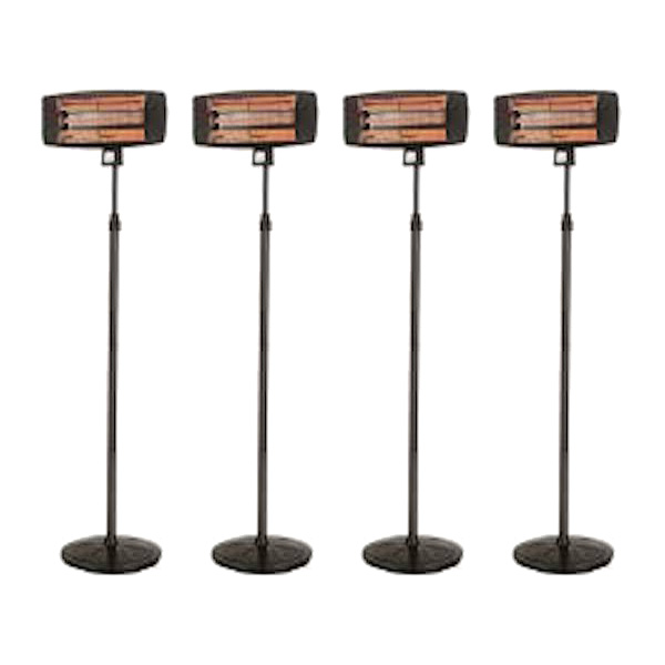 Package 4 – 4 x Electric Radiant Heater